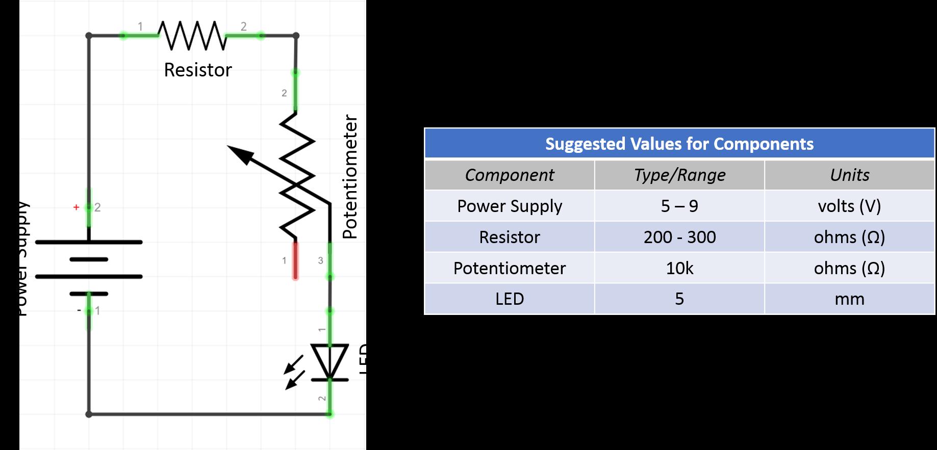 Potentiometer Mentor2 10k Ohm Switch Wiring Diagram Schematic